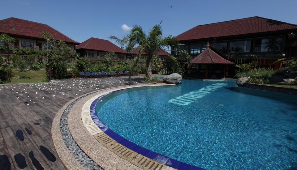 Bhuwana Ubud Hotel Bali - Area Kolam Berenang