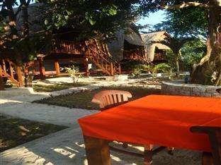Lotus Garden Huts Bali - restaurant